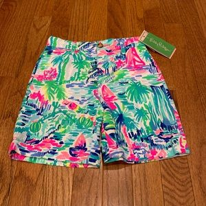 NWT Lilly Pulitzer Boys Beaumont Shorts 3